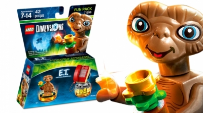 ЛЕГО 71258 Fun Pack E.T. the Extra-Terrestrial E.T. and Phone Home