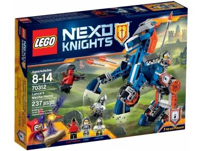 ЛЕГО 70312 Ланс и его механический конь  Nexo Knights