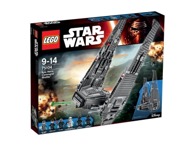 LEGO 75104 Командный шаттл Кайло Рена Star Wars