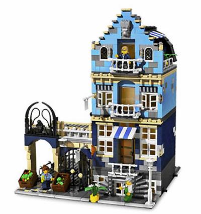 Лего 10190 Торговая улица - Market Street