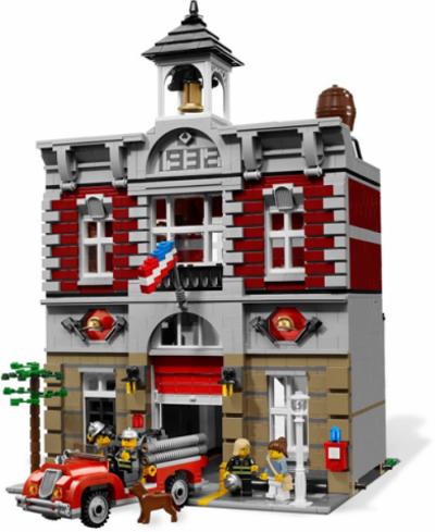Лего 10197 Пожарная команда - Fire Brigade