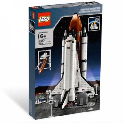 Лего 10213 Космический шаттл (Shuttle Adventure)