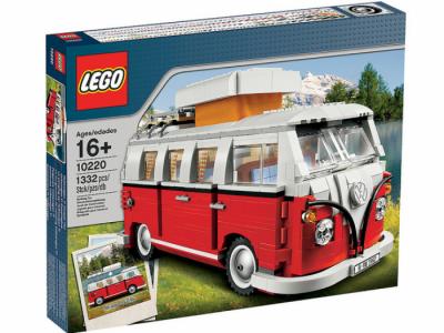 Купить конструктор LEGO Sculptures: 10220 Volkswagen T1 Camper Van (VW Bus) в Москве. Доставка лего по России.
