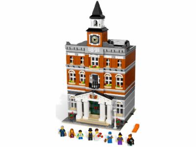 Лего 10224 городская Ратуша