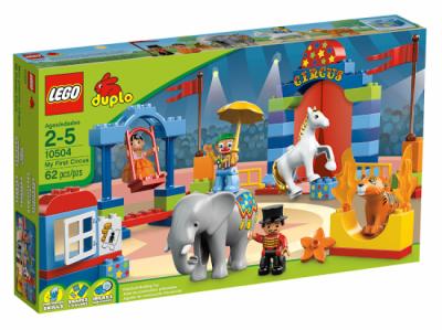Лего 10504 большой цирк