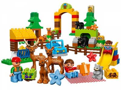 Лего 10584 лесной заповедник
