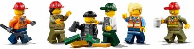 LEGO поезд 60198 - минифигурки