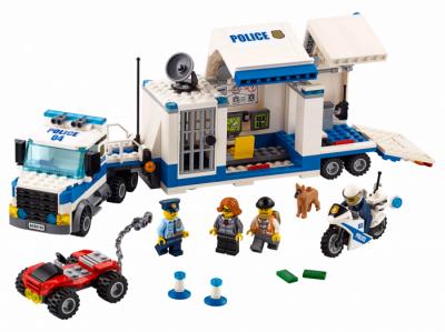 Мобильный командный центр (Lego 60139)