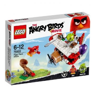 ЛЕГО 75822 Самолетная атака свинок новинка Angry Birds