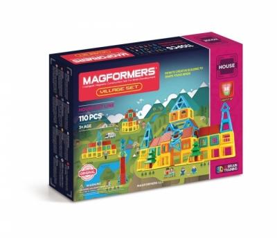 Купить магнитный конструктор Магформерс Деревня 705002