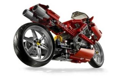 ЛЕГО 8420 Уличный Мотоцикл Technic