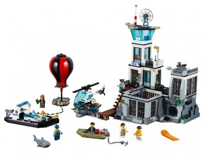 Остров-тюрьма (Lego 60130)