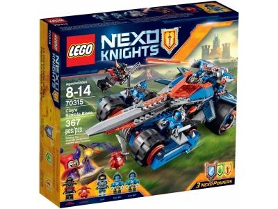 ЛЕГО 70315 Устрашающий разрушитель Клэя  Nexo Knights