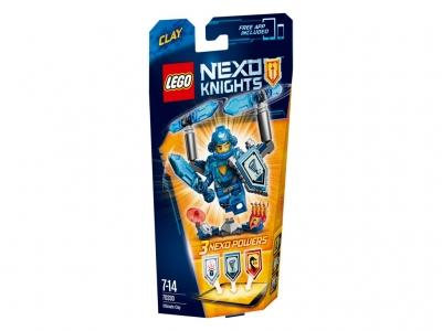 ЛЕГО 70330 Клэй – Абсолютная сила  Nexo Knights