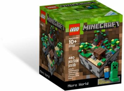 Купить конструктор Лего 21102 Мейнкрафт: Мини мир в Москве доставка по России.