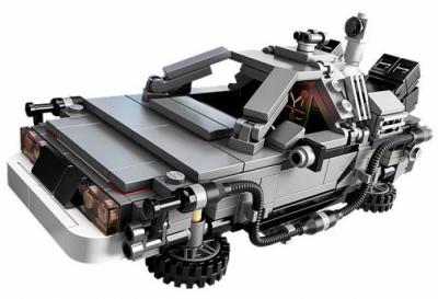 Лего 21103 Назад в будущее: DeLorean машина времени