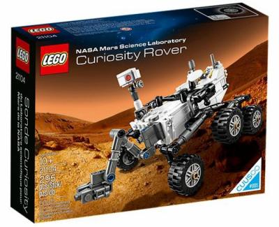 Купить конструктор лего 21104 NASA Mars Science Laboratory Curiosity Rover в Москве доставка по России.