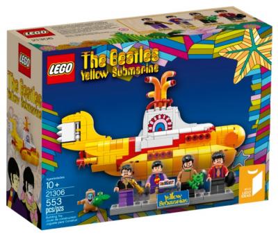 Купить конструктор LEGO Ideas (CUUSOO): 21306Yellow Submarine в Москве. Доставка лего по России.