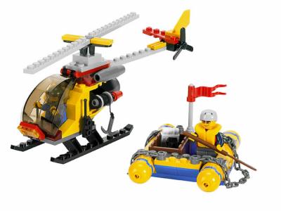 Лего 2230 Вертолет и Плот