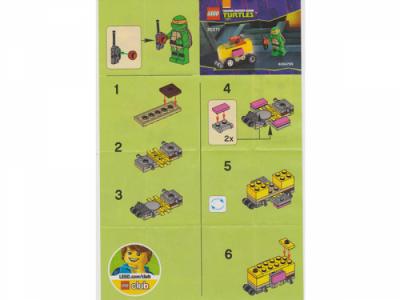 Легог 30271 Mikey's Mini-Shellraiser polybag