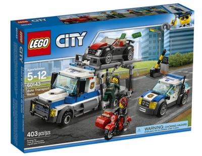 Ограбление транспортировщика автомобилей (Lego 60143)