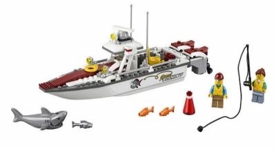 Рыбацкая лодка (Lego 60147)