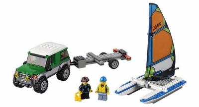 Внедорожник с прицепом для катамарана (Lego 60149)