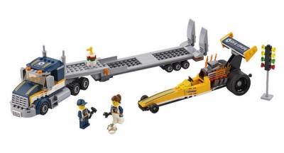 Грузовик для перевозки драгстера (Lego 60151)