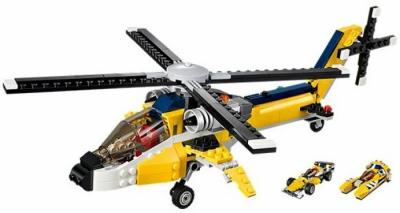 ЛЕГО 31023 Жёлтый скоростной вертолет CREATOR