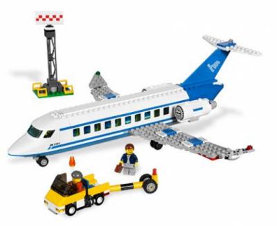 Лего 3181 пассажирский самолет