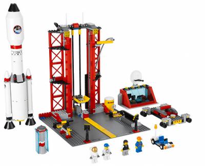Лего 3368 Космодром (ракета)