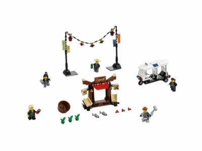 Лего 70607 Ограбление киоска в Ниндзяго Сити