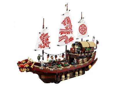 Лего 70618 Летающий корабль мастера Ву