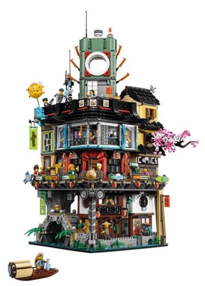 Лего 70620 Город Ниндзя го