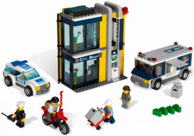 Лего 3661 Инкассация в банке
