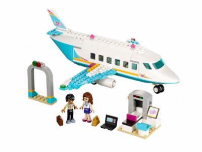 Купить конструктор LEGO Friends: 41100 Heartlake Private Jet в Москве. Доставка по России.