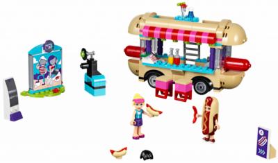 Конструктор ЛЕГО Friends 41129 Парк развлечений фургон с хот-догами