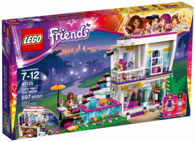 Конструктор LEGO Friends 41135 Поп-звезда: дом Ливи