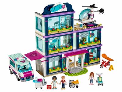 Лего 41318 Больница Хартлейк Сити