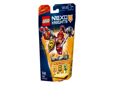 ЛЕГО 70331 Мэйси – Абсолютная сила  Nexo Knights