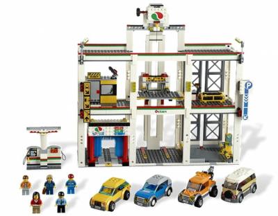 Гараж (Lego 4207)
