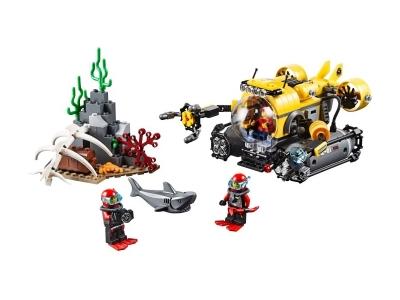 Глубоководная подводная лодка (Lego 60092)