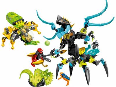 Купить конструктор LEGO Hero Factory Villains: 44029 QUEEN Beast vs. FURNO, EVO & STORMER в Москве. Доставка лего по России.