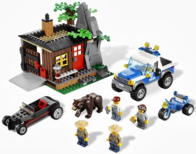 Лего 4438 Укрытие преступника