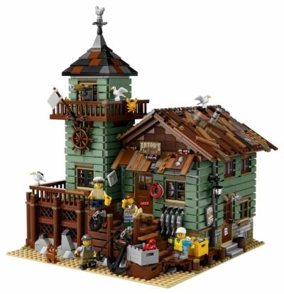 Лего 21310 рыбатская хижина
