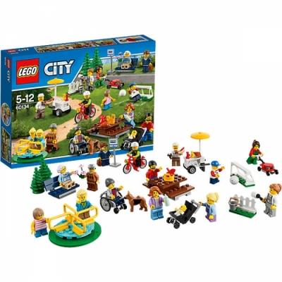 Праздник в парке - жители Лего Сити (Lego 60134)
