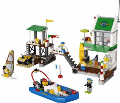 Лего 4644 Пристань для яхт