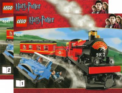 Инструкция Лего 4841 Хогвартс Экспресс - Hogwarts Express (3rd edition)