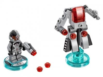 Купить конструктор LEGO Dimensions Wave 1 Super Heroes: 71210 Fun Pack - DC Comics Cyborg and Cyber-Guard в Москве. Доставка лего по России.