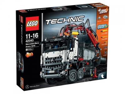 Купить конструктор LEGO Technic: 42043 Mercedes-Benz Arocs 3245 в Москве. Доставка лего по России.